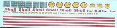 Shell  Gas Station Decal Set