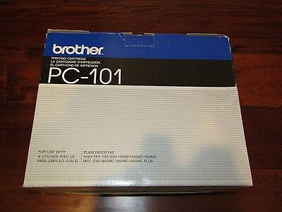 NEW Genuine Brother Fax PC101 Thermal Ribbon Printing Cartridge MFC MC Intelli