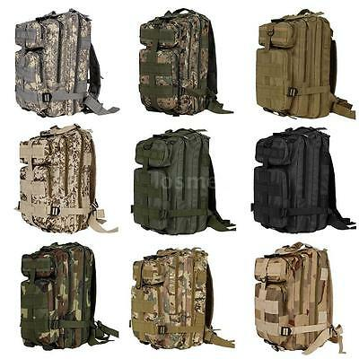 30L Molle Outdoor Backpack Military Tactical Bag Camping Hiking Trekking Bag