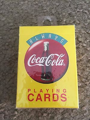 Nice Always Coca-Cola Coke Playing Cards Yellow Box sealed New 1994