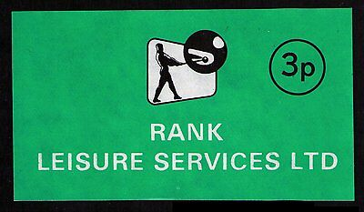 Rank Poster Label, Very Fine Condition, No Gum, See Scan