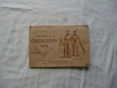 Vintage 1938 Cricket cards set Players Cigarettes includes the Don Bradman card