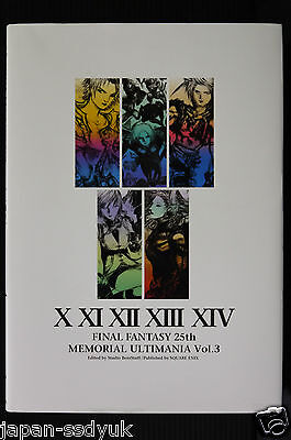 JAPAN Final Fantasy 25th Memorial Ultimania Vol.3
