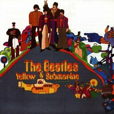 The Beatles - Yellow Submarine - The Beatles CD B0VG The Cheap Fast Free Post