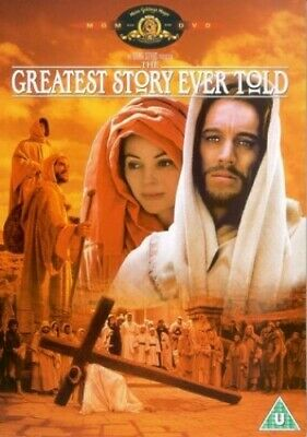 The Greatest Story Ever Told [DVD] [1965] - DVD  UCVG The Cheap Fast Free Post