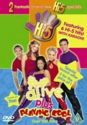 Hi-5: Five Alive/Playing Cool [DVD] - DVD  KIVG The Cheap Fast Free Post