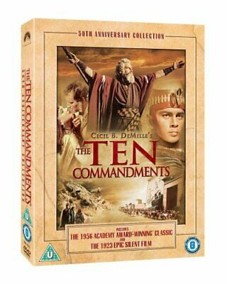 The Ten Commandments [DVD] [1956] - DVD  OIVG The Cheap Fast Free Post