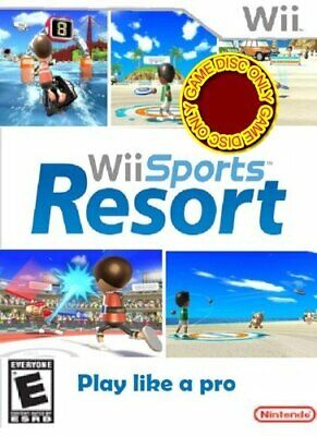 Sports Resort Solus Game Wii - Game  LOVG The Cheap Fast Free Post
