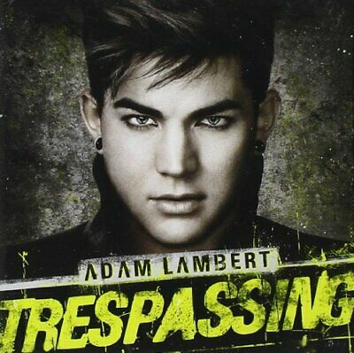 Adam Lambert - Trespassing - Adam Lambert CD OUVG The Cheap Fast Free Post The