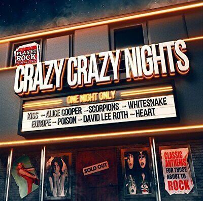 Various - Crazy Crazy Nights - Various CD KUVG The Cheap Fast Free Post The