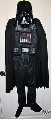 "Star Wars ""Darth Vader"" Boys Complete Muscle Costume Size Medium"