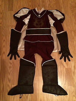 Disney Store PRINCE EDWARD Boys COSTUME L 10 Enchanted HALLOWEEN Fancy Dress Up