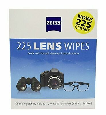 400  Zeiss Pre-Moistened Lens LCD LED Screen Optical Camera Cleaning Cloth Wipes