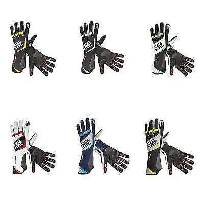 OMP One Evo Race / Racing / Rally Gloves - FIA Approved - IB/759
