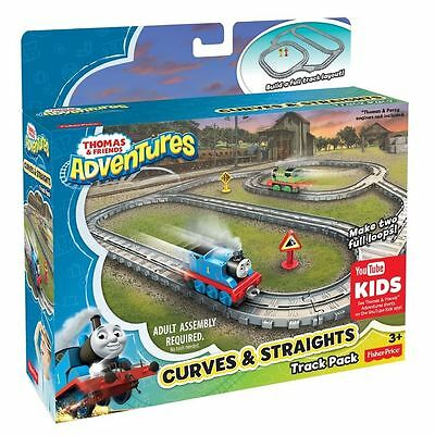Thomas & Friends Adventures Curves & Straights Track Pack - Fisher Price DYV59