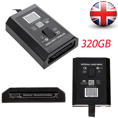 320G HDD Microsoft Hard Drive Internal Disk For XBOX360 Xbox 360 Slim Console UK