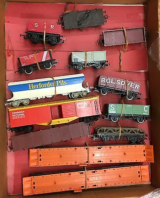 Hornby Railway Mixed Rolling Stock - (13 x Mixed Wagons)
