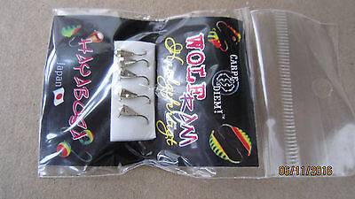 5 NEW Tungsten Mormyshka Handmade Ice Fishing Jigs Lures 'faceted drop'