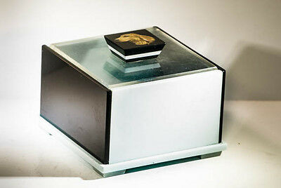 Vintage art deco catalin bakelite box vanity jewellery storage