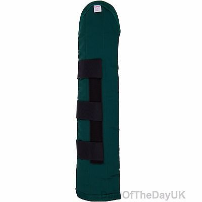 Aerborn Stay-Up Padded Tail Guard Bandage for Pony Cob Horse Green Brown