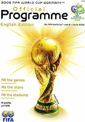 M - Football Fifa World Cup 2006 Germany Official Programme - English Edition