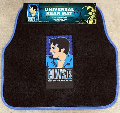 ELVIS PRESLEY King of Rock and Roll Vehicle Truck Car REAR FLOOR MAT 1 Piece New