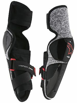 Alpinestars Black-White Vapor Pair of Kids MX Elbow Guard