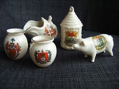 Collection Of Crested China - Goss, Carlton, Arcadian