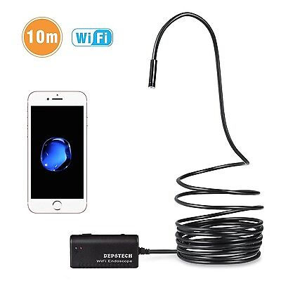 HD Endoscope Waterproof Wifi Borescope Inspection Camera 2.0 Android iOS System