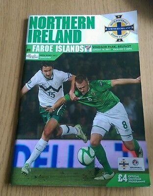 Northern Ireland v Faroe Islands 2011 European 2012 Qualifier Ulster GAWA
