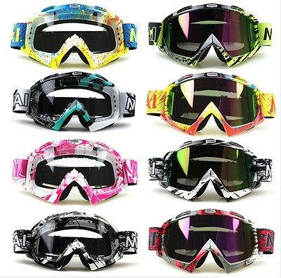 Occhiali mascherina Motocross Enduro Quad ATV off road Motorcycle Googles dirt