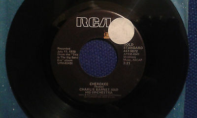 """Charlie Barnet and his Orchestra - Pompton Turnpike (U.S. reissue 7"""" single)"""