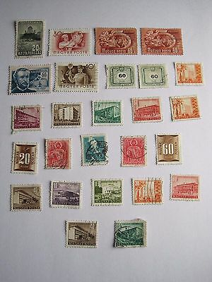 Hungary stamps early job lot (26)
