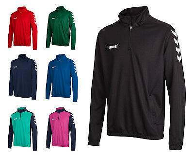 Hummel Core 1/2 Zip Sweat Fußball Handball Kinder Gr. 116 - 176 Art. 136-895