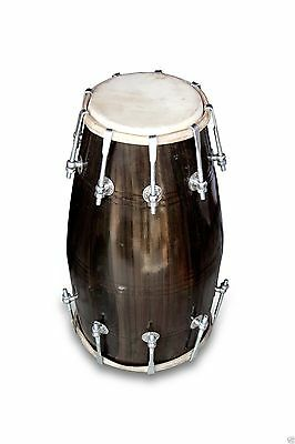 Dholak Drums Handmade Professional~18-Bolt Tuned~Made With Mangowood~Dholki~