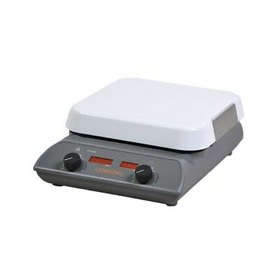 """Corning 6795-200 PC-200 Hot Plate with 4"""" x 5"""" Pyroceram Top, 4.4"""" Length x 5.8"""""""