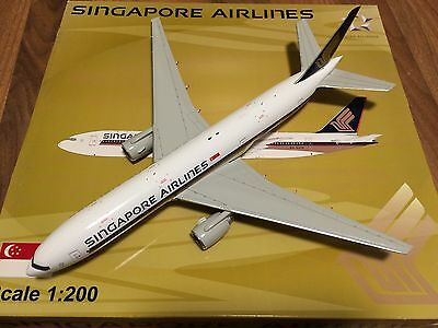 JC wings - 1:200 Singapore Airlines 777-200ER - 9V-SVH - XX2092