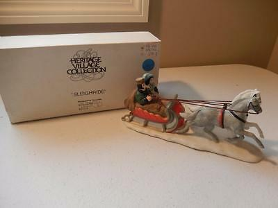 Department 56 - SLEIGHRIDE #6511-0  Free Shipping