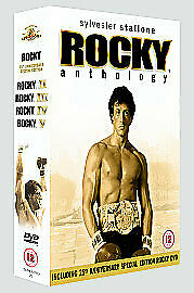 Rocky Anthology (5 Disk Box Set) - Regio DVD
