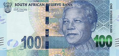SOUTH AFRICA 100 Rand ND 2012 P136 Nelson Mandela UNC Banknote