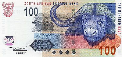 SOUTH AFRICA 100 Rand ND 2005 P131a Tito Mboweni UNC Banknote (last one)
