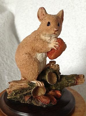 Woodmouse and Acorn ornament by Country Artists