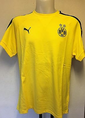 Borussia Dortmund 2016/17  Yellow Performance Tee By Puma Size Xxl Brand New