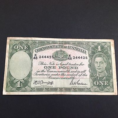 One pound the commonwealth of australia k/48 244425