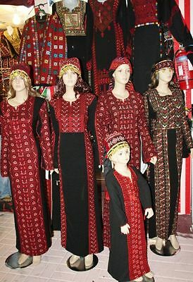 MUSEUM  PALESTINIAN EMBROIDERY DRESS TOBE  more than 30 years ago