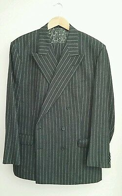 mans 1940s style double breasted suit