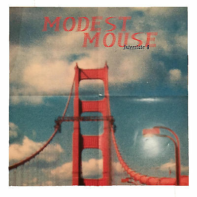 Modest Mouse Poster Interstate 8 Music Promo Music Album Release Ad 24x24 Poster