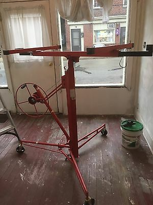 OPEN BOX - Troy Drywall Lift - 11' Red