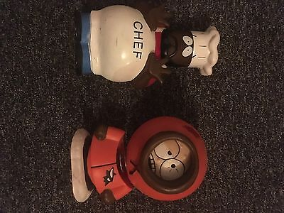 South Park Kenny Bobblehead And Chef Bank