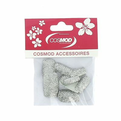 Faux Ongles Manucure Cosmod - Argent